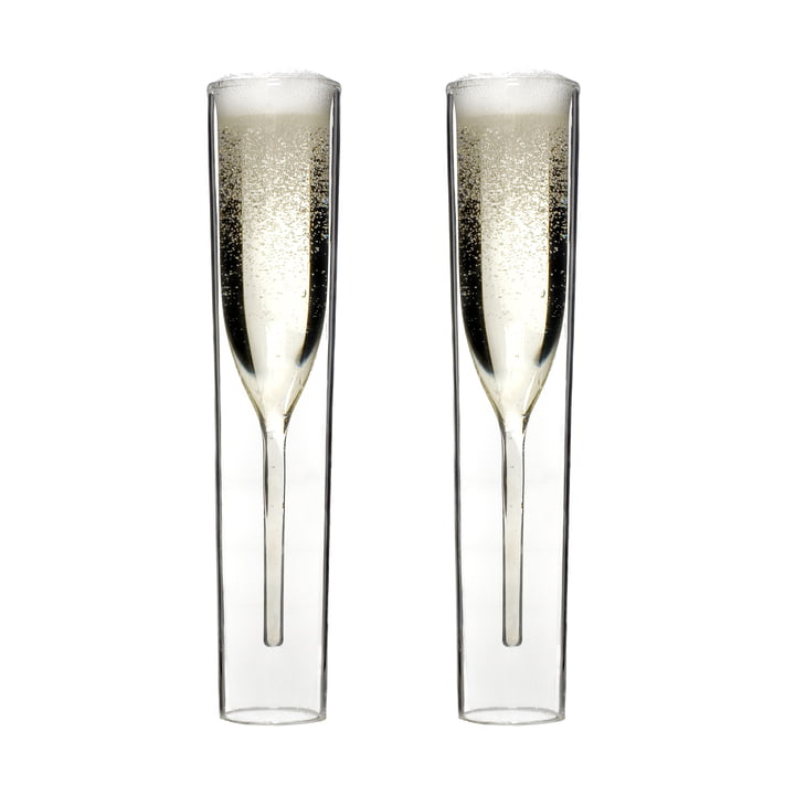 By:Amt - InsideOut Champagner Glas