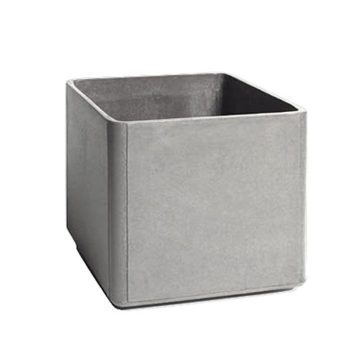 Eternit - Delta Pflanzgefäß 45 x 45 x45cm, grau