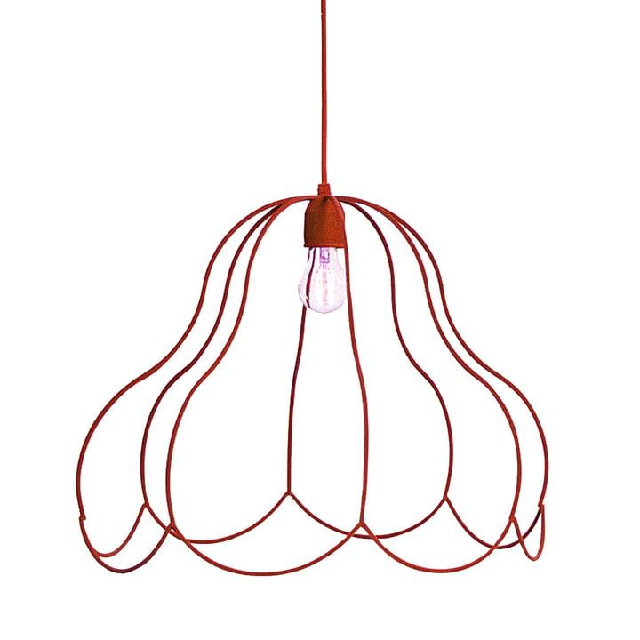 LADP - Emperors Lamp Pendelleuchte, klein, rot