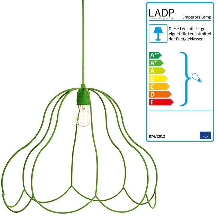 LADP - Emperors Lamp Pendelleuchte, grün