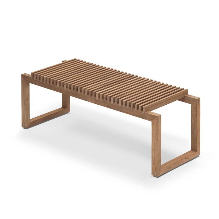 Cutter Holz-Bank 120 von Skagerak in Teak