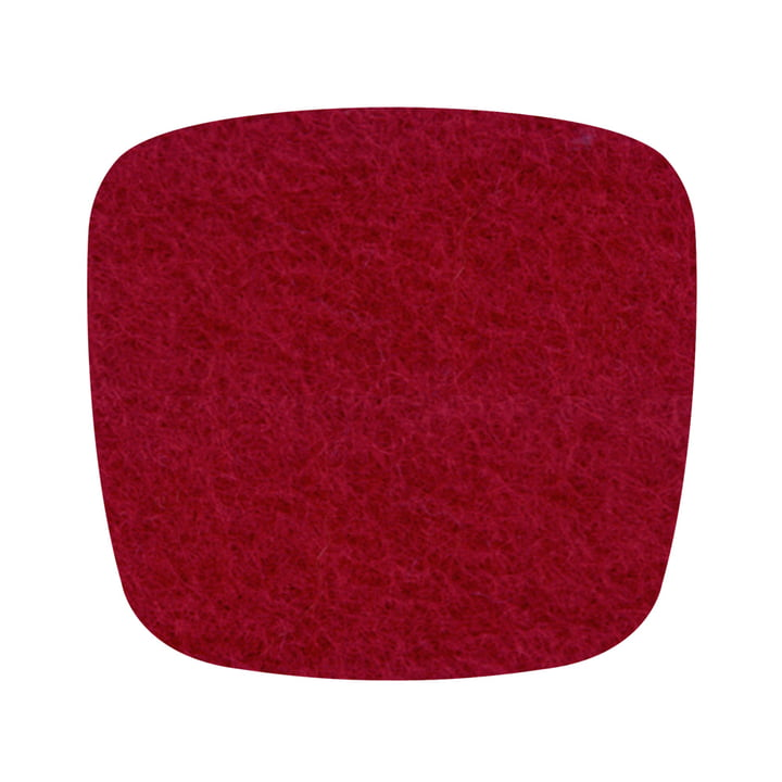 Hey Sign - Filz-Auflage Eames Plastic Armchair, rot 5mm