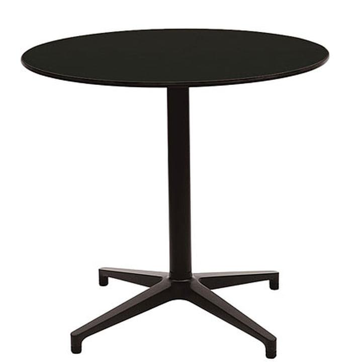 Vitra Bistro Table - rund, schwarz