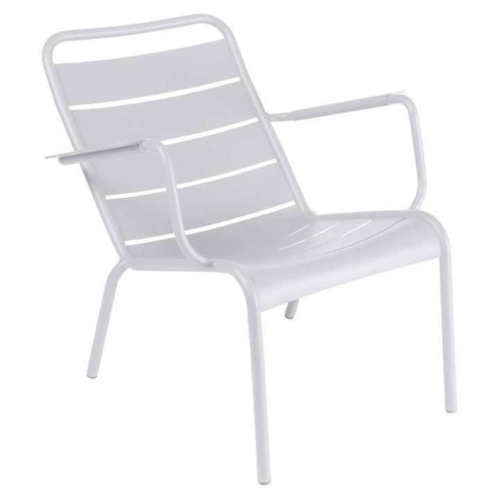 Luxembourg tiefer Sessel von Fermob in Baumwollweiß