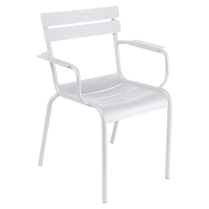 Luxembourg Sessel von Fermob in Baumwollweiß