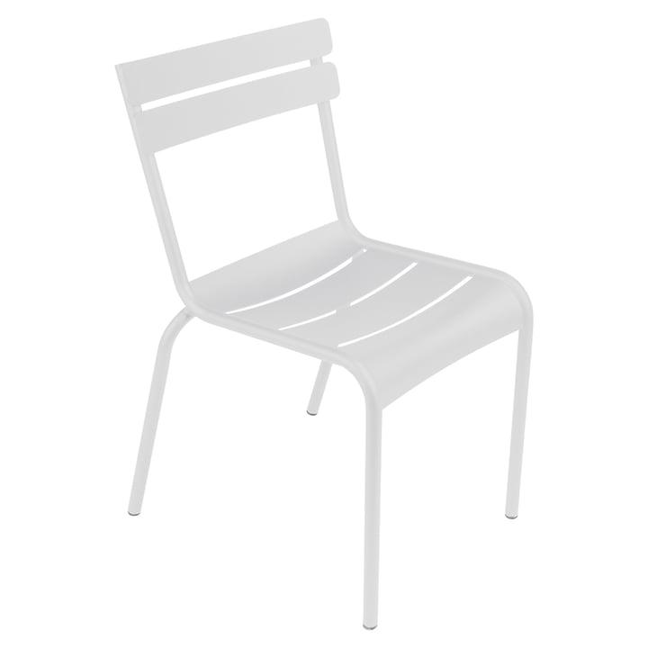 Luxembourg Stuhl von Fermob in Baumwollweiß