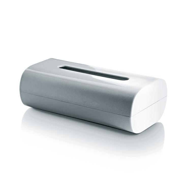 Alessi - Birillo Papiertaschentuch- Behälter, weiß