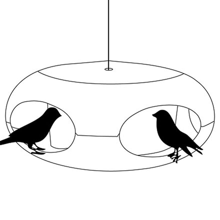 Koziol - [pi:p] Vogelfutterhaus