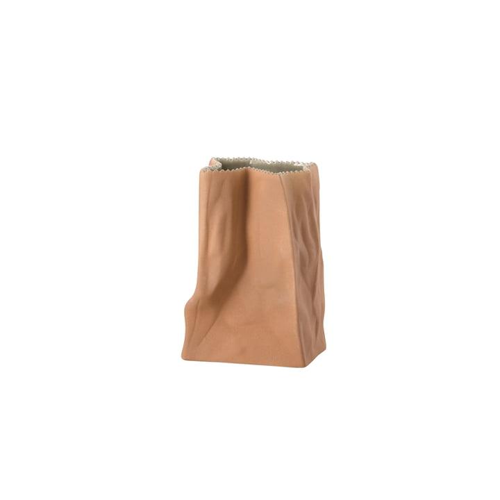 Die Tütenvase von Rosenthal, 14 cm, hellbraun