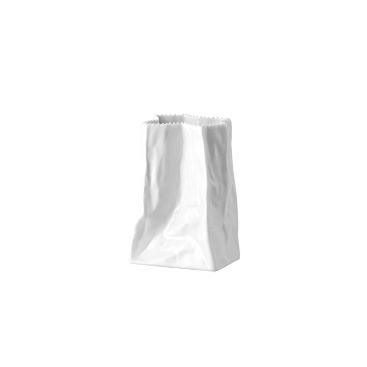 Rosenthal - Tütenvase, 14 cm, weiß glasiert