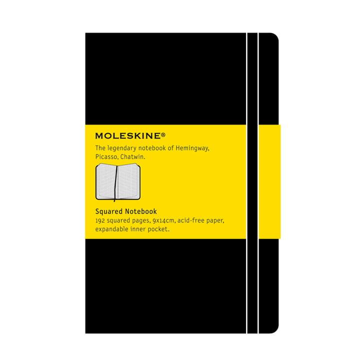 Moleskine - Kariertes Notizbuch