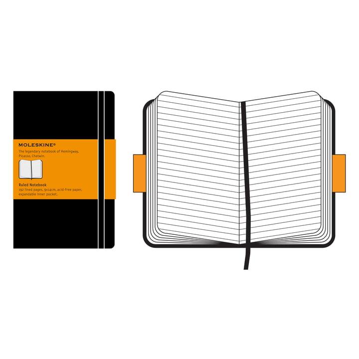 Moleskine - Liniertes Notizbuch