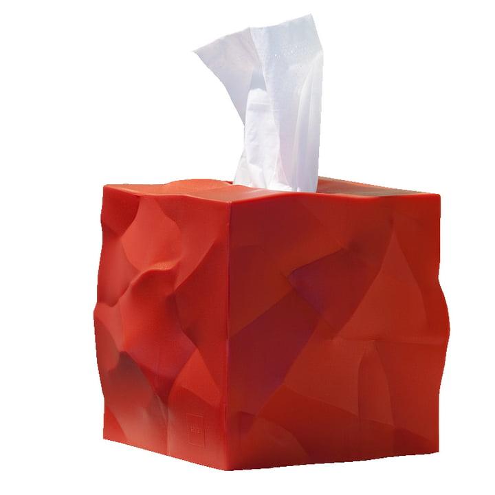 Wipy-Cube Tuchbox von Essey in rot