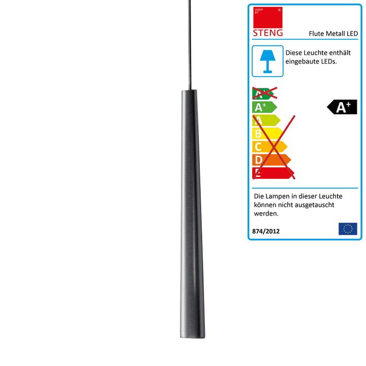 Steng Licht - Flute Metall Pendelleuchte