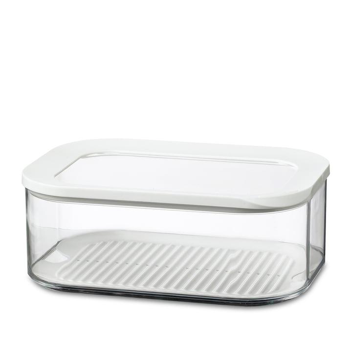Modula Kühlschrankdose Käse 2000 ml von Rosti Mepal in Weiß