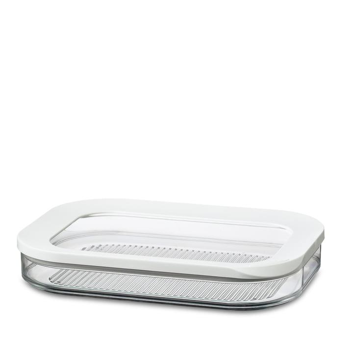 Modula Kühlschrankdose Aufschnitt 550/1 von Rosti Mepal in Weiß
