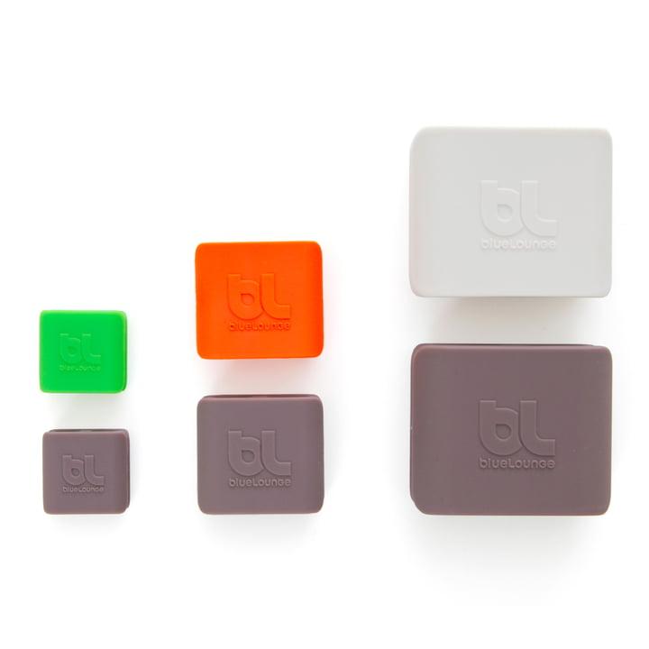 Bluelounge - CableClip, alle drei Sets und Größen im Vergleich