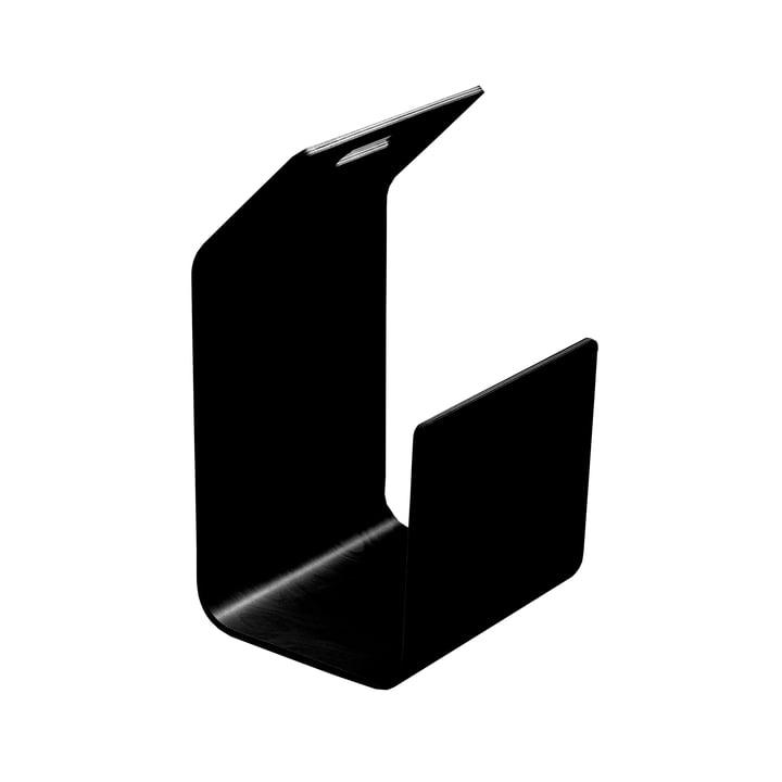 Kanto Zeitungs-/ Brennholzständer von Artek in Schwarz