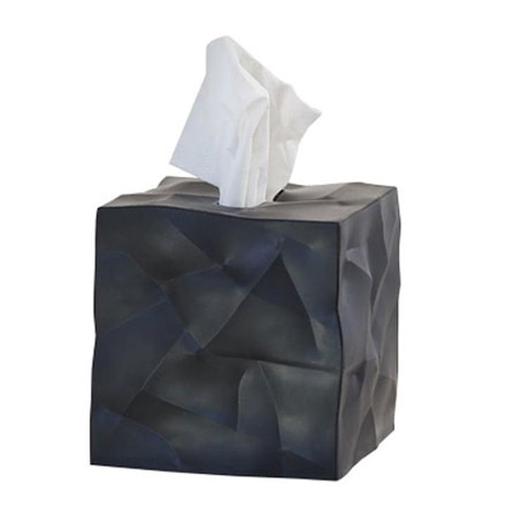 Essey - Wipy-Cube Tuchbox, schwarz