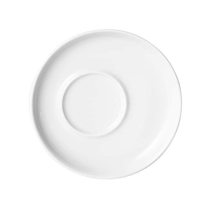 Five Senses, Untertasse, 16 cm von Kahla in Weiß