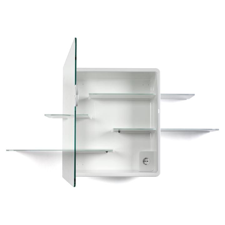 Authentics - Kali Spiegelschrank in Weiß