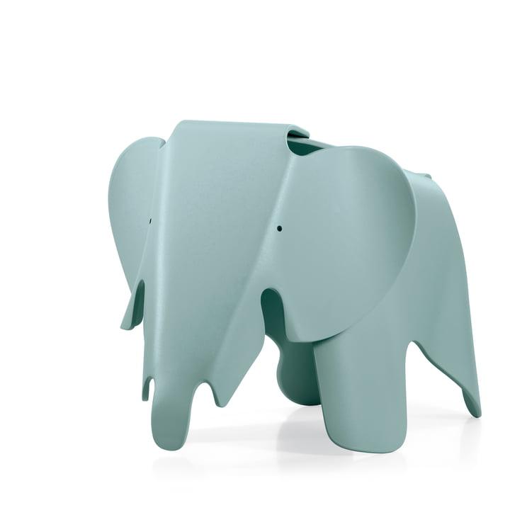 Eames Elephant von Vitra in eisgrau