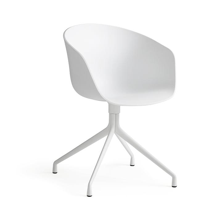 About A Chair AAC 20 von Hay in Aluminium Weiß / Weiß
