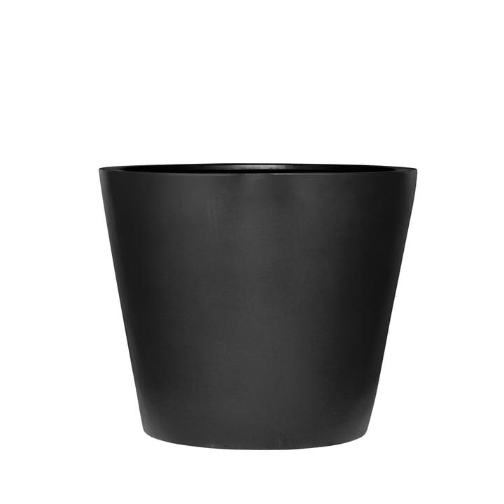 amei - Der Runde Pflanzgefäß, S, schwarz