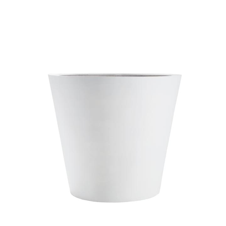 amei - Der Runde Pflanzgefäß, S, weiß