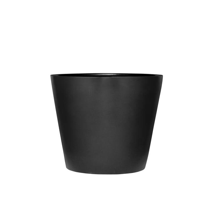 amei - Der Runde Pflanzgefäß, XS, schwarz