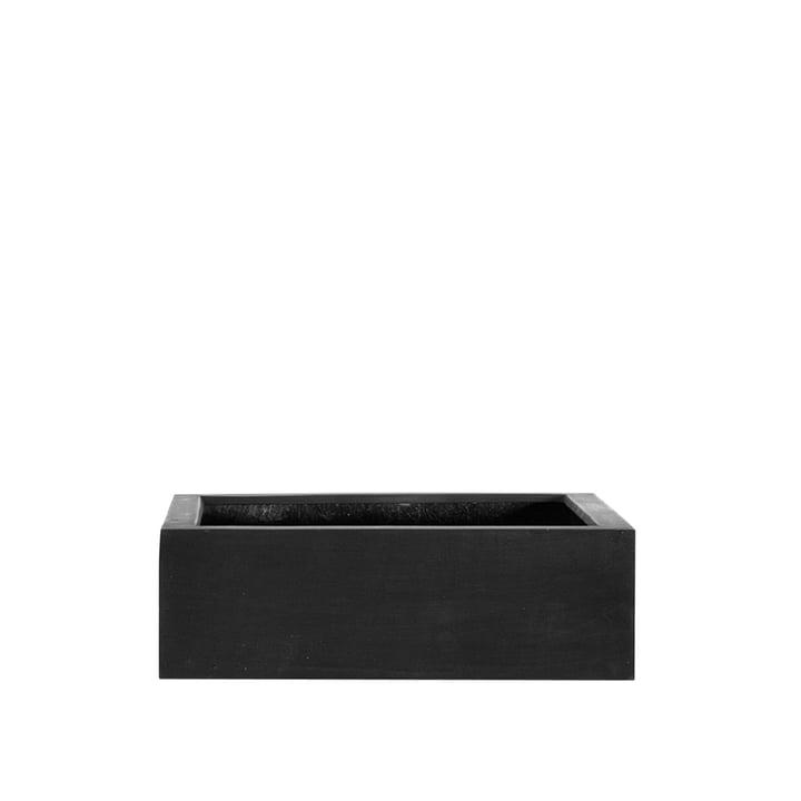 Das Quadratische Pflanzgefäß von amei, S, schwarz