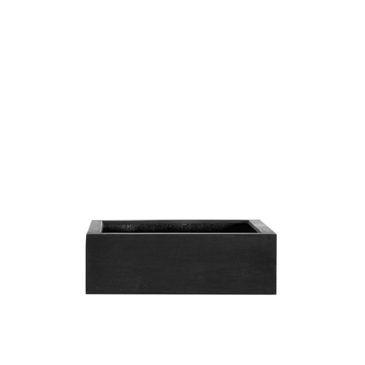 amei - Der Quadratische Pflanzgefäß, XS, schwarz
