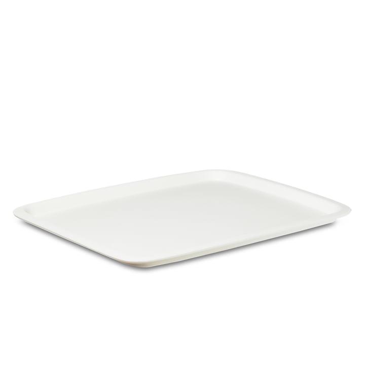 Rosti-Mepal-Tablett-rechteckig-weiss