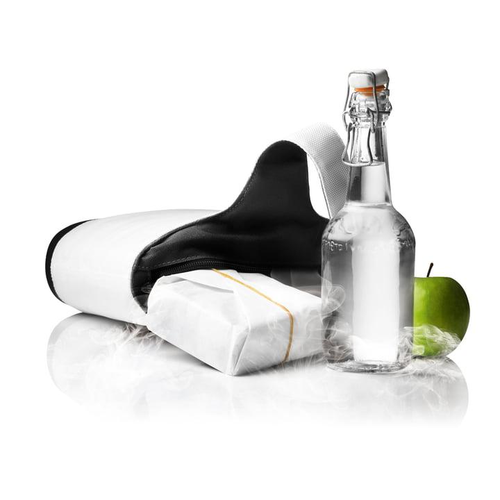 Menu - Cool Bag - weiß/schwarz - liegend