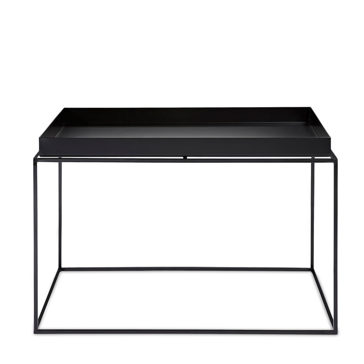 Tray Table 60 x 60 cm von Hay in Schwarz