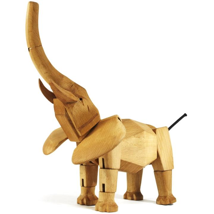 wooden creatures areware elefant 2