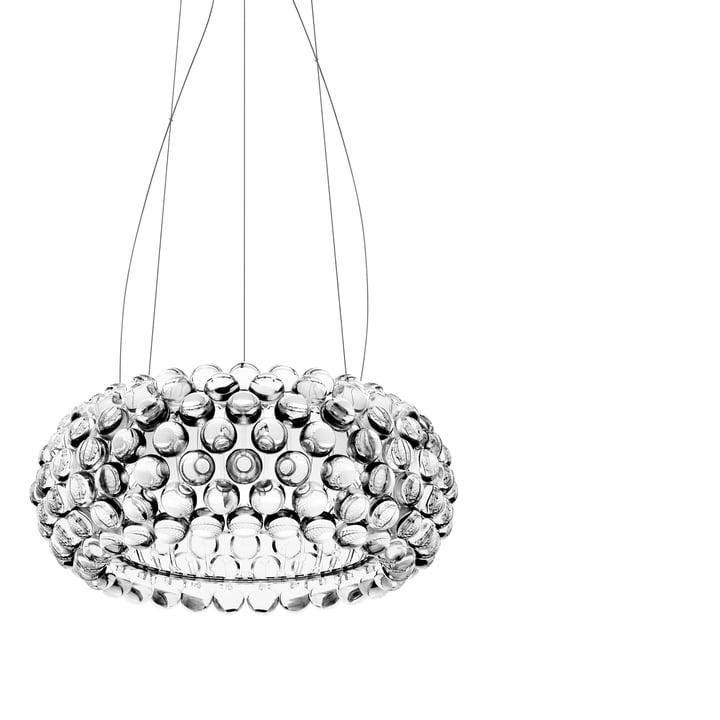 Foscarini - Caboche media MyLight LED-Pendelleuchte, transparent (dimmbar)