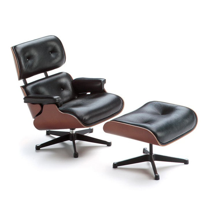 Vitra - Miniatur Lounge Chair & Ottoman