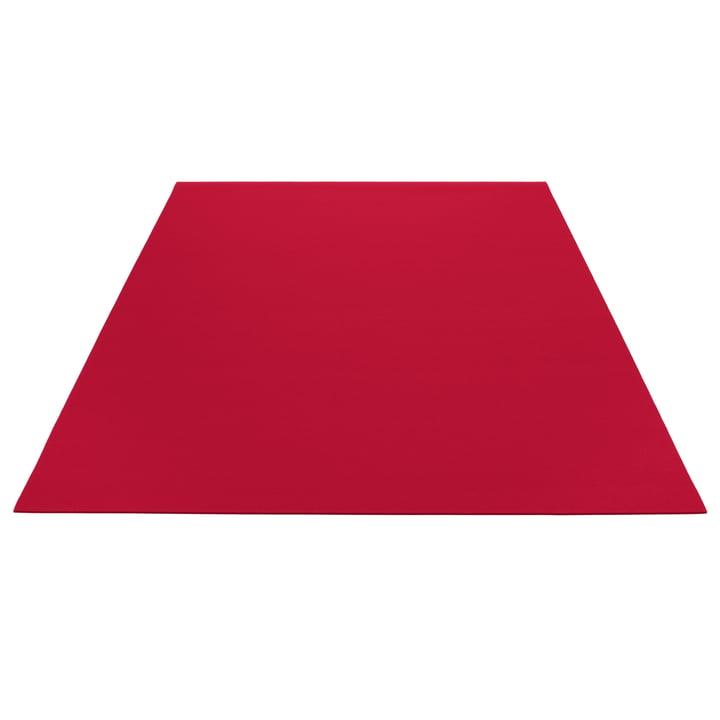 Hey Sign Teppich rechteckig / 140x200 cm, mohnrot