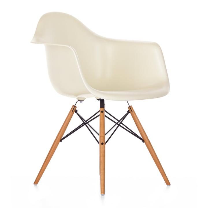 Vitra - Eames Plastic Armchair - DAW / creme