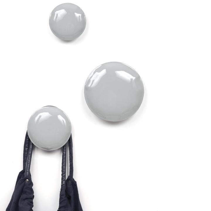 Zieta - Pin Wandhaken, grau