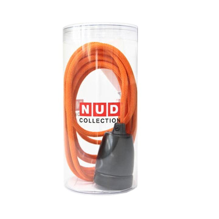 Classic Black von NUD Collection in Orange mit Verpackung
