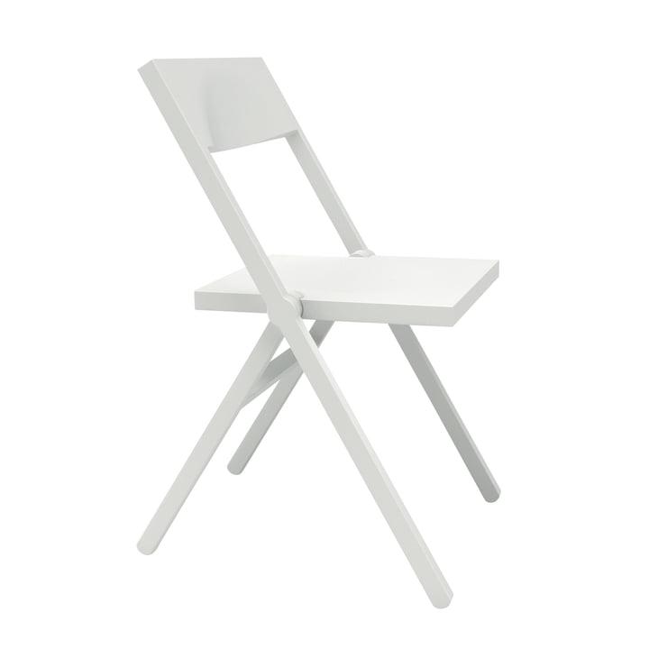 Piana Klappstuhl von Alessi in weiß