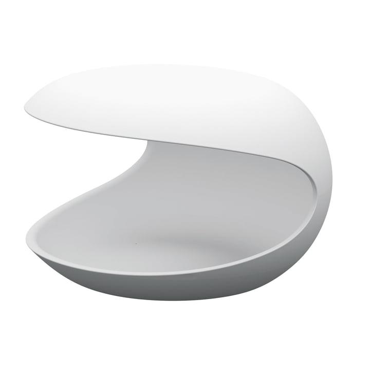 Zanotta - White Shell Beistelltisch