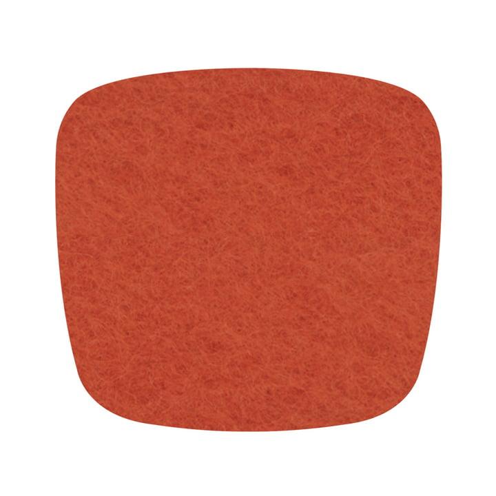 Hey Sign - Filz-Auflage Eames Plastic Armchair, mango 5mm