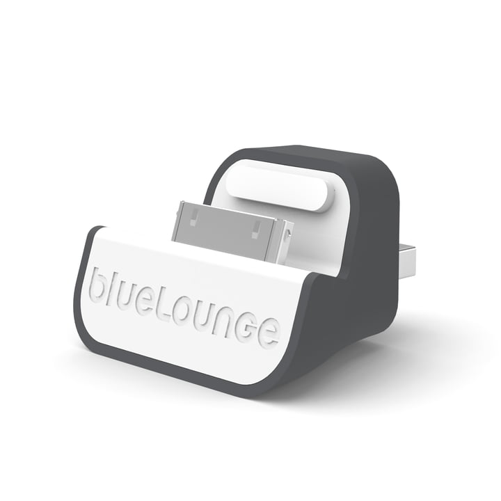 Bluelounge - Mini Dock - EU Version, weiß