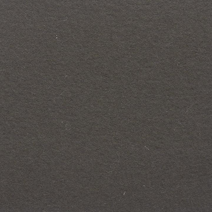 Ruckstuhl - Teppich Feltro, graubraun 70040 - Detailansicht