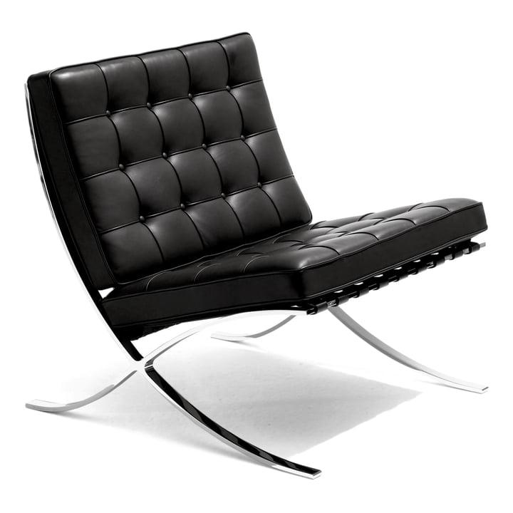 barcelona sessel von knoll connox. Black Bedroom Furniture Sets. Home Design Ideas