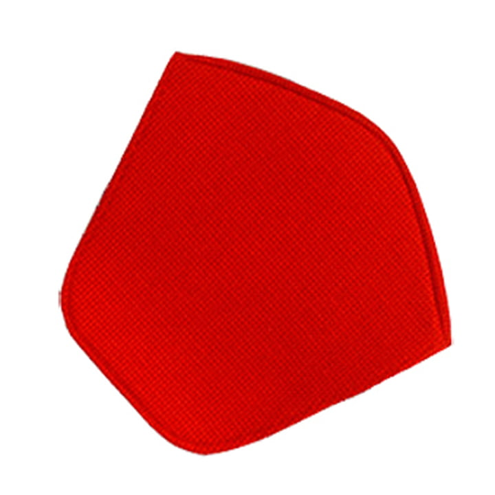 Knoll - Sitzkissen für Bertoia Diamond Sessel, Hopsack rot