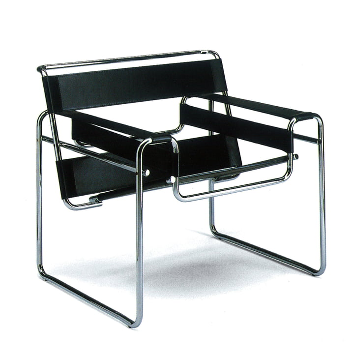 wassily stuhl marcel breuer knoll shop. Black Bedroom Furniture Sets. Home Design Ideas
